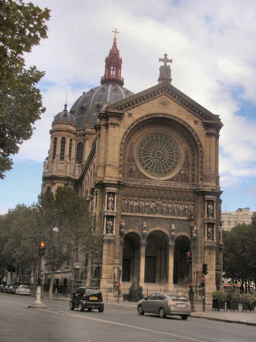 Paris : église Saint-Augustin.