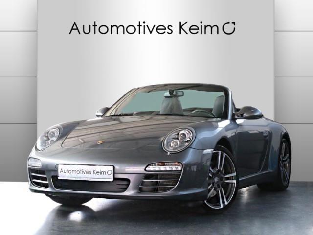 Porsche 997 Cabrio in Grau als Gebrauchtwagen in Seligenstadt für € 67.985,-