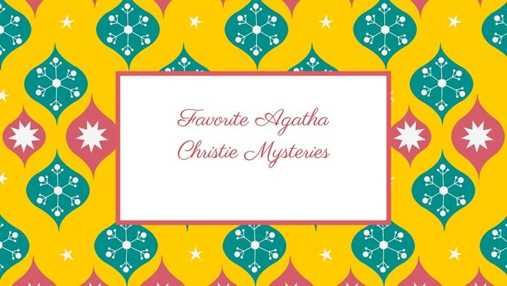 I remember spending an entire summer reading Agatha Christie. I'd spend my days with her books, challenging myself to figure out who the culprit was. She must have been my first encounter with mystery novels and my passion for them never left me, turning into a passion for crime novels and psychological thrillers. Having spent …