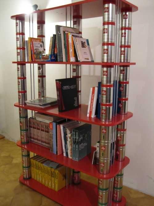 10 librerie e scaffali dal riciclo creativo