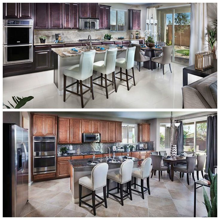 Same kitchen, different DESIGN! Which would you rather call MINE?!