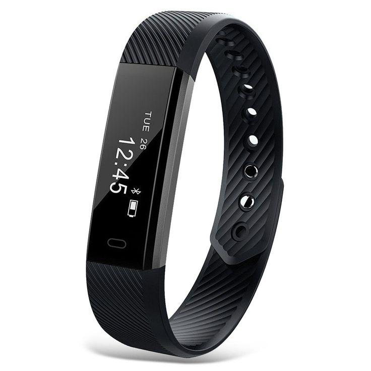 Smart Bracelet Fitness Tracker Watch Alarm Clock Step Counter Smart Wristband Bluetooth Sport Sleep Monitor