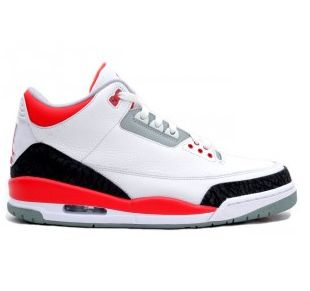 136064 120 Air Jordan Retro 3 White Fire Red Neutral Grey Black, cheap  Jordan If you want to look 136064 120 Air Jordan Retro 3 White Fire Red  Neutral Grey ...