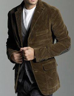 Кадифено спортно сако и джинси / corduroy sport coat and jeans