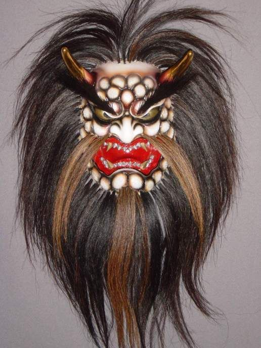 japanese demon mask for sale