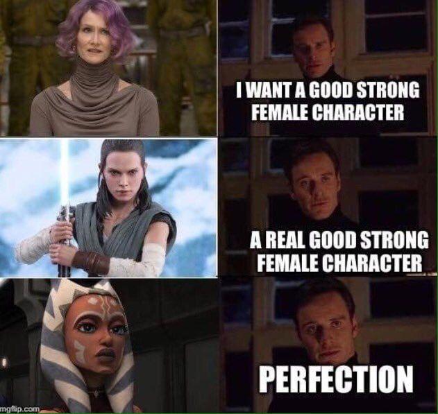 Perfection Star Wars Ahsoka Star Wars Humor Star Wars Facts
