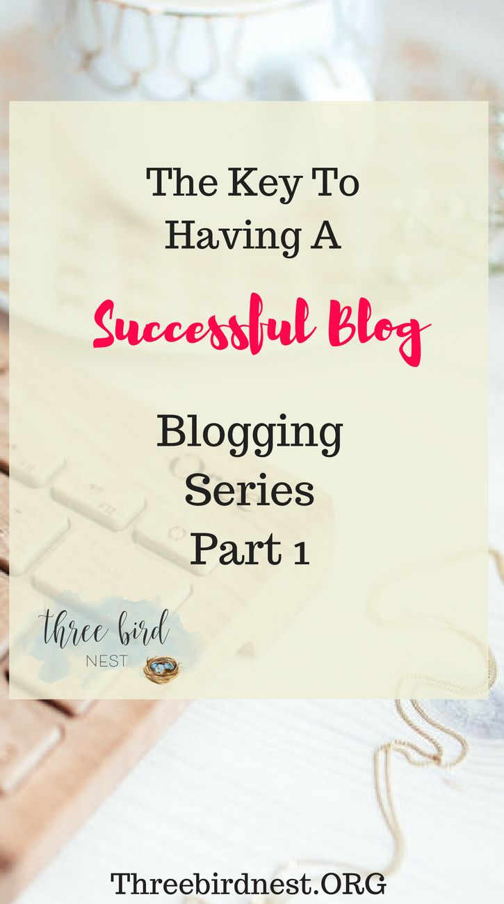 The key to having a successful blog is not necessarily what you think it is. In this series, we'll go over everything you need to know to blog successfully. #blogging #startablog