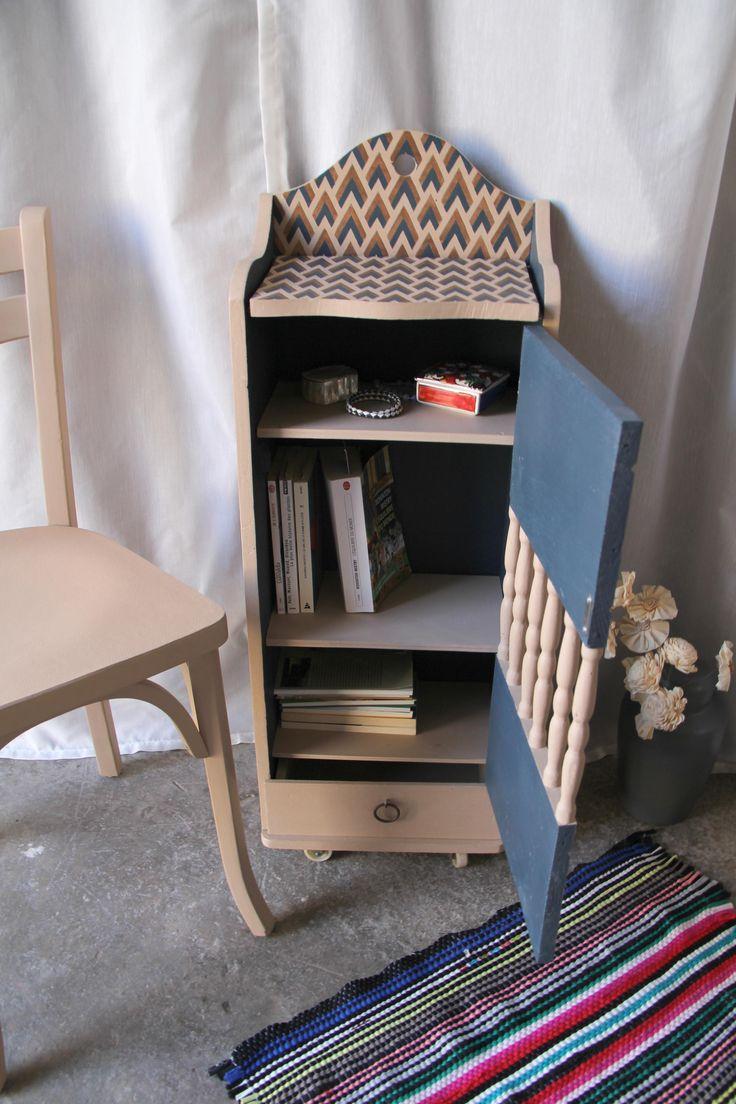 Transformer une ancienne huche à pain en meuble d'appoint (après rénovation)