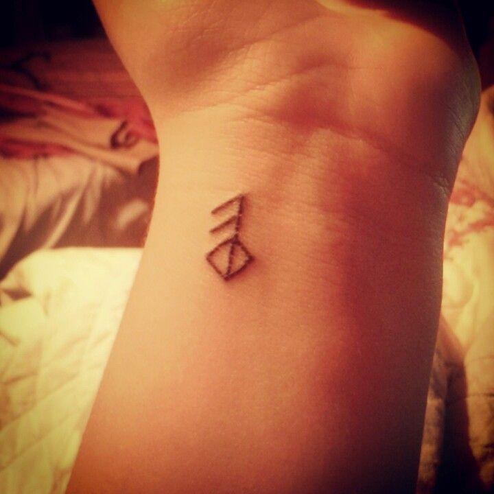 my new viking rune tattoo it means love tattoo me pinterest the vikings norse runes. Black Bedroom Furniture Sets. Home Design Ideas