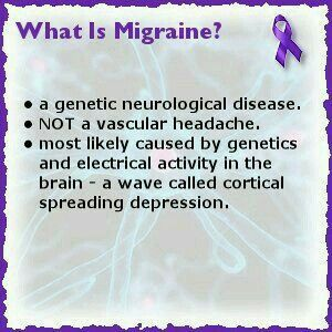 What is migraine? Interesting
