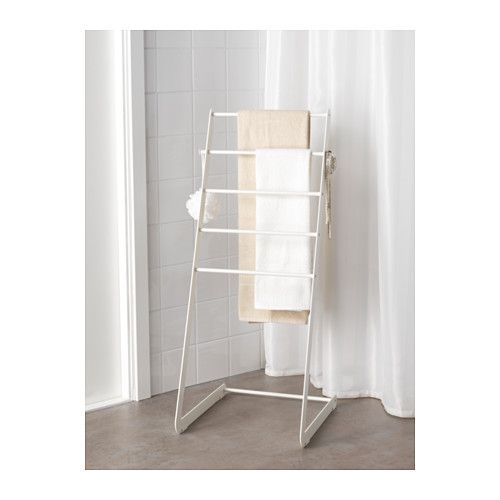 For the bathroom enudden towel stand ikea ruther Towel storage ideas ikea