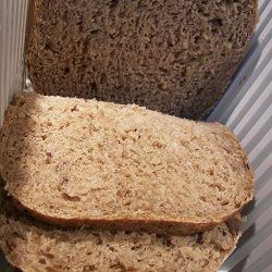 Ezekial Bread - Ezekiel bread is bread made using four types of grain and four beans.  (bread machine)