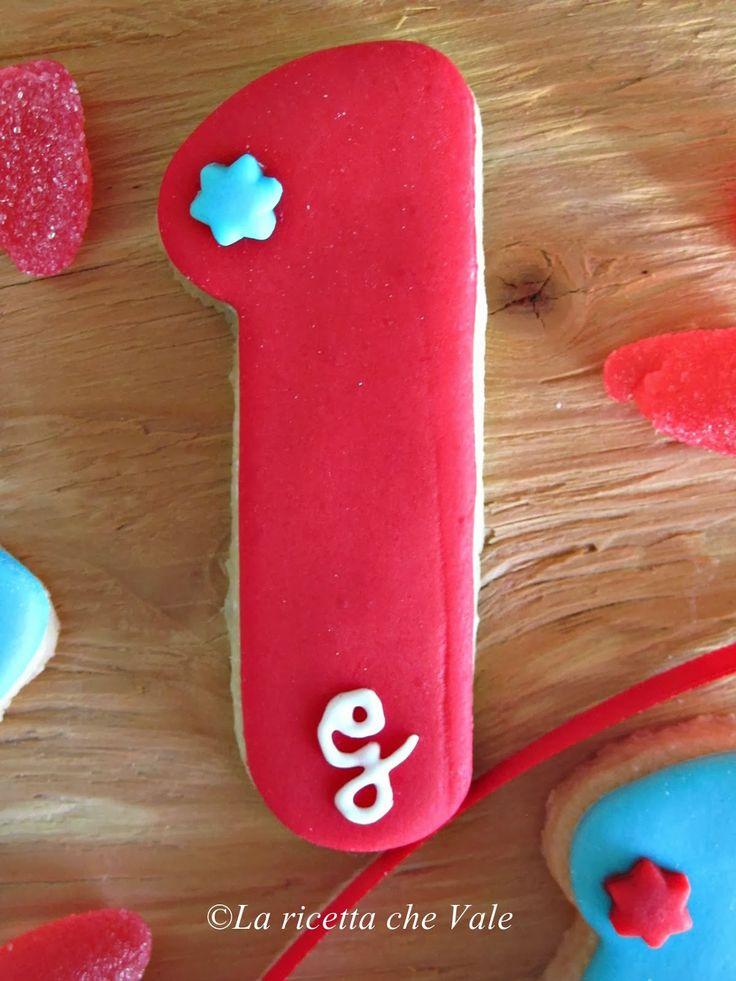 Biscotti primo compleanno