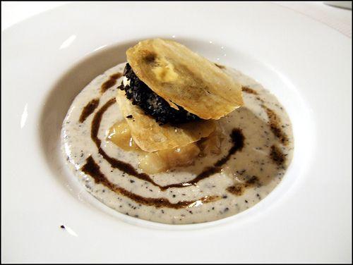 Creme glacee de pomme de terre, veloute de legumes - Pierre Gagnaire