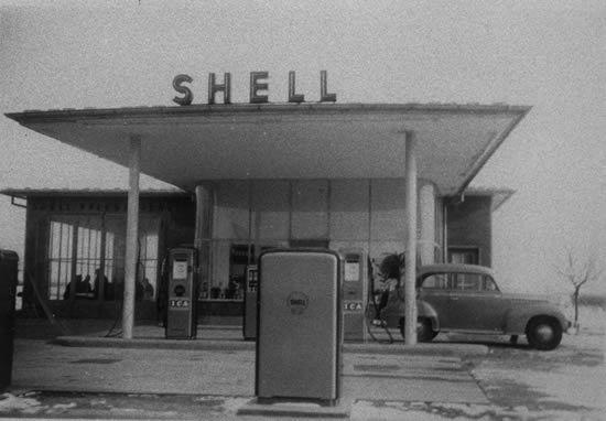 Tankstelle in Husum