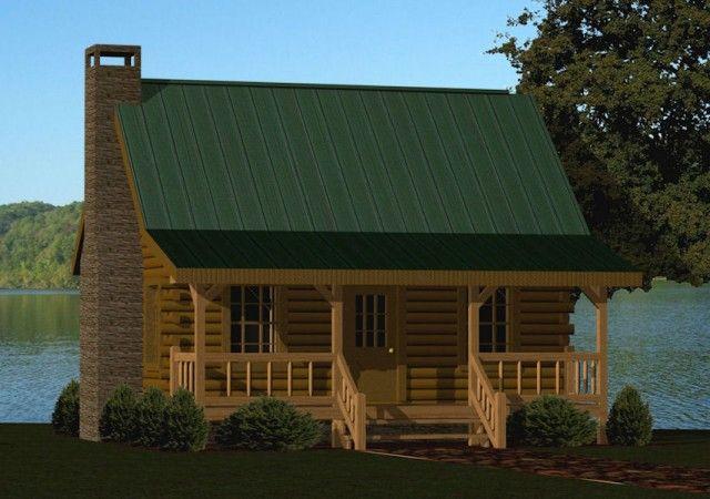 Small Log Cabin Kits & Floor Plans: Cabin Series from Battle Creek TN