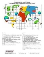 """Résultat de recherche d'images pour """"worksheet english speaking countries"""""""