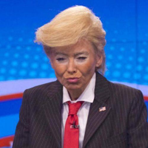Who Had the Best Donald Trump Halloween Costume—Kelly Ripa, Lara Spencer or Mario Batali? | E! Online
