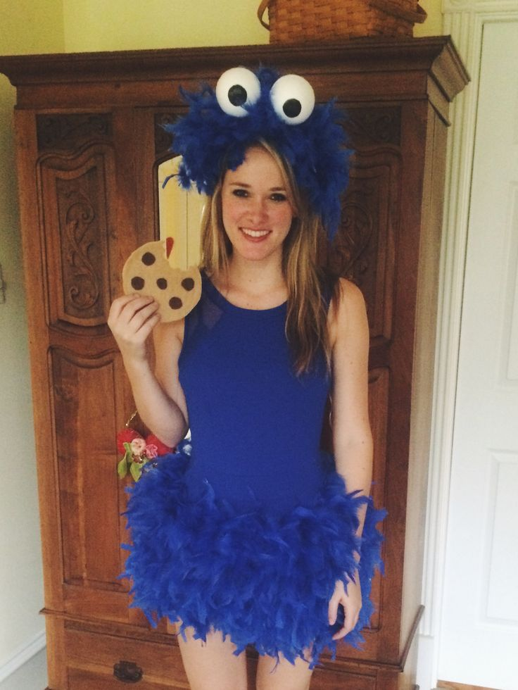 Diy Cookie Monster Costume In 2019 Monster Costumes