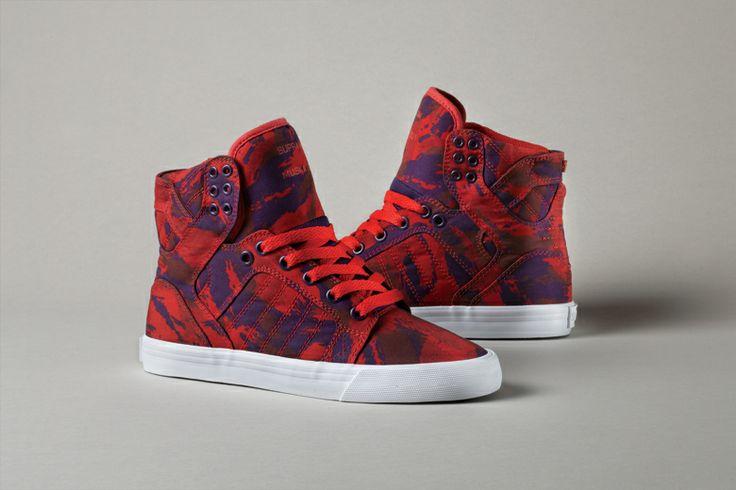 Supra Shoes Low Tops Camo