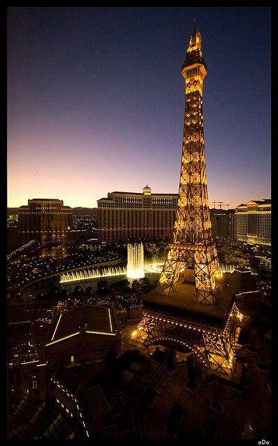 Eiffel Tower - Las Vagas, Nevada