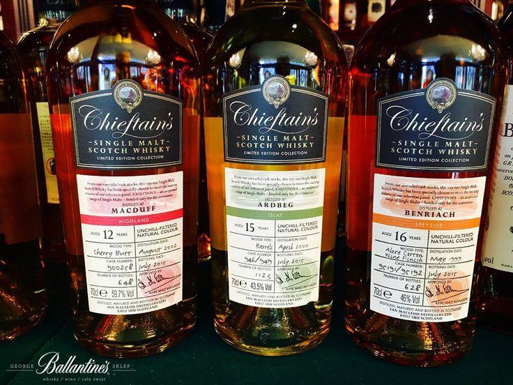 Chieftains - Independent Bottler  #chieftains #whisky #single #malt #cask #macduff #ardbeg #benriach #sklepballantines #shop #warsaw