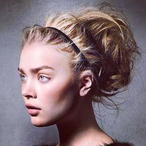 Get this messy tousled bun with clip in hair extensions