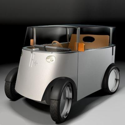 Hydrogen Car by Philippe Starck, 2005