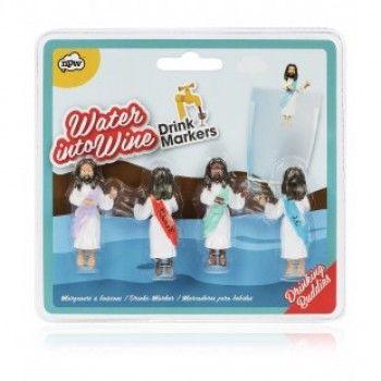 JESUS DRINKING BUDDIES (glashänge)