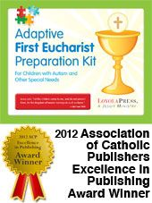 Adaptive First Eucharist Preparation Kit.  For children with autism and other special needs.