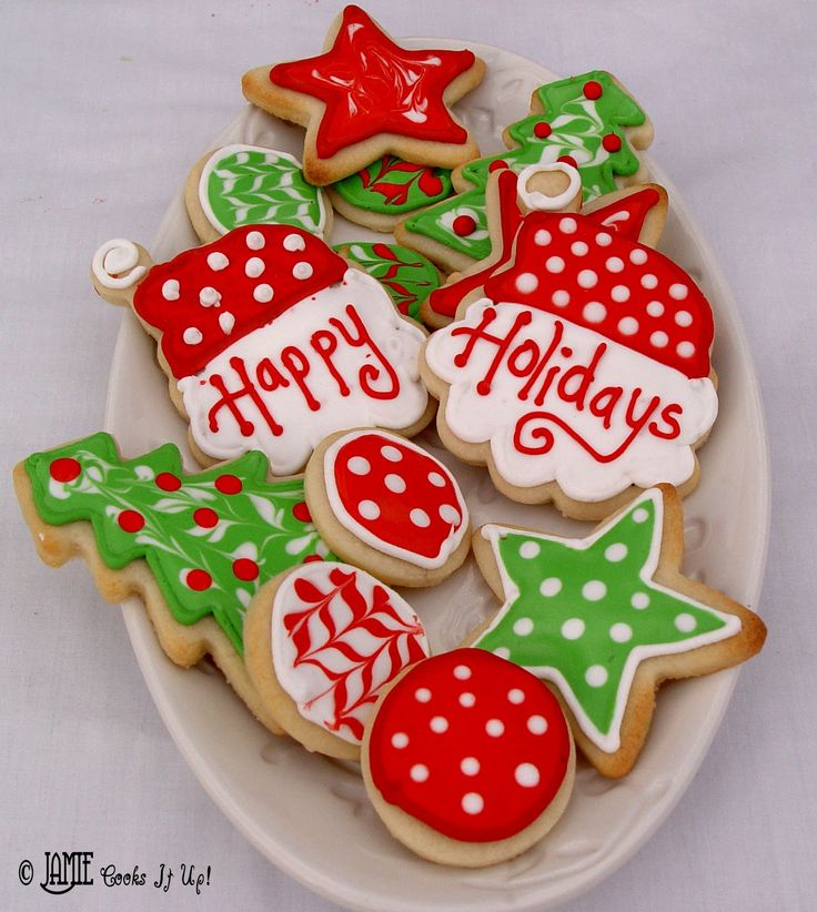 Holiday Cookie Decorating Ideas Part - 21: Christmas Sugar Cookies