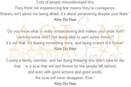 Korean Drama Quotes - Good Doctor (2013) -  that's why i loved this drama!!