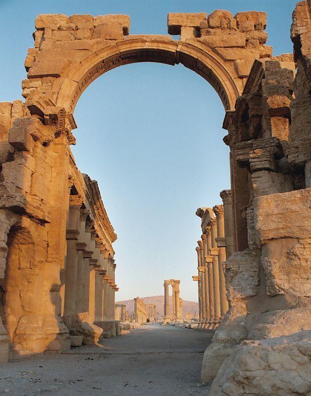 Arch of Hadrian, Palmyra, Syria