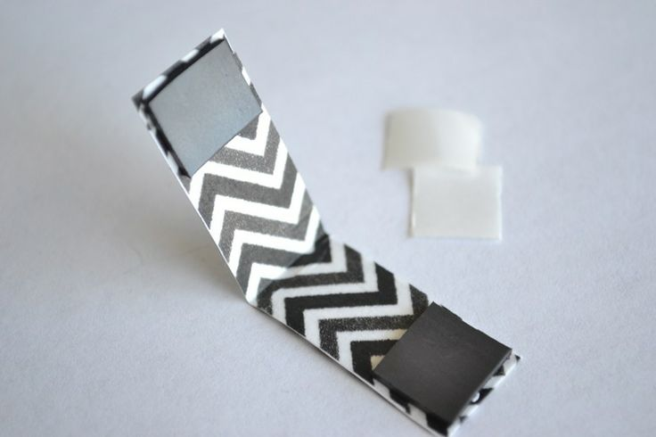 Magnetic Washi Tape Bookmarks – from A Lemon Squeezy Home