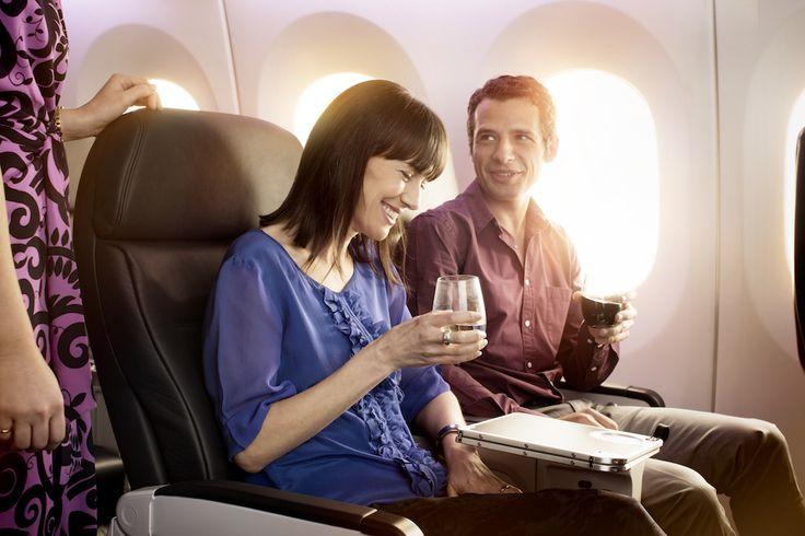 Boeing 787-9 Premium Economy. For more information on Air New Zealand's new Boeing 787-9 visit http://www.airnewzealand.co.nz/futuretakingflight #AirNZ #787-9 #AirNewZealand #NewZealand