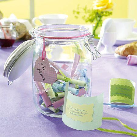Muttertagsgeschenk-Ideen zum Selbermachen - glas-lose  Rezept