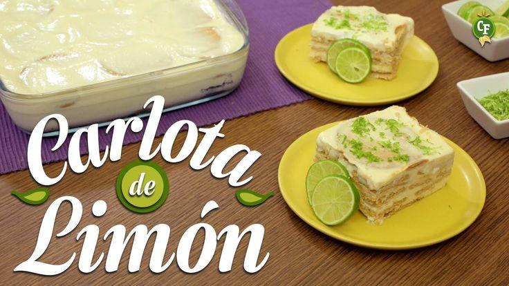 ¿Cómo preparar Carlota de Limón? - Cocina Fresca