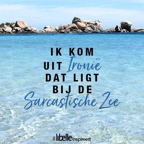 142 vind-ik-leuks, 3 reacties - Libelle Sanoma Media Nederland (@libellenl) op Instagram: 'Ik kom uit Ironiё, dat ligt bij de Sarcastische Zee #Libelle #Libellenl #Libelle13…'