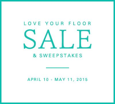 Mohawk Flooring's Love Your Floor Sale Sweepstakes.  Enter to win 1 of 3 prizes up to $2500.  It's easy to enter.  Check it out now! #MohawkLoveYourFloorSale