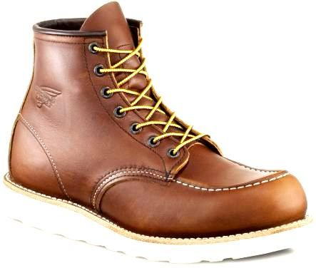 "Jual beli Red Wing 10875 Factory Seconds di Lapak Mic and Mel Redwing - gusti_racov. Menjual Boots - Moc Toe Red Wing Factory Second 10875  Ukuran yang masih tersedia: D 09.0 / 42 / 27cm D 09.5 / 42.5 / 27.5cm  Barang Ready, siap dikirim ke tempat anda.  Harga Pas - Take it or leave it. Defect TIDAK diketemukan  Original:  Red Wing 10875 Moc Toe Boots - Factory Seconds  Factory 2nds. Classics dari masa ke masa, Red Wing's 10875 6"" moc toe boots yang membuat Red wi..."