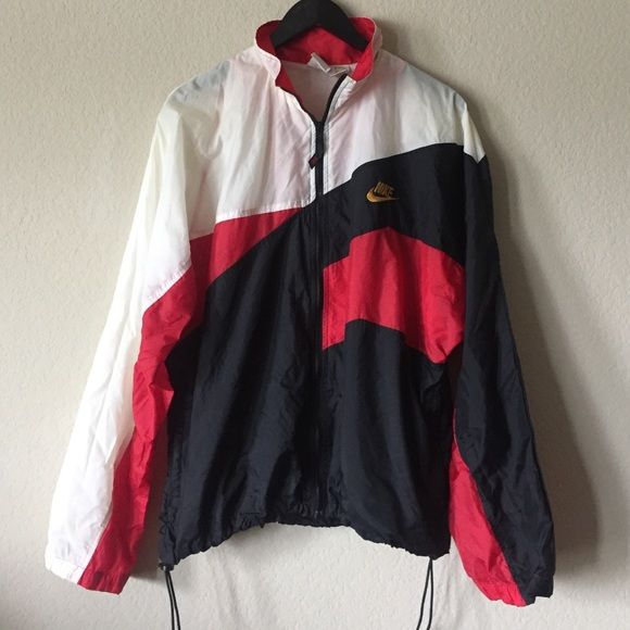 Vintage Nike Retro Windbreaker vintage Nike windbreaker, cinch waist, men's but unisex so fits oversized Nike Jackets & Coats