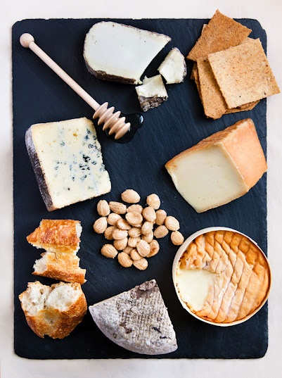 "how to compile an ""adventurous cheese plate."""