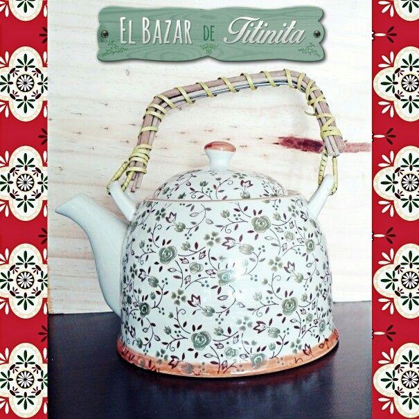 Teterita, varios modelos. $5.500   www.elbazardetitinita.cl  #Te #Tea #Bazar #Online #ElBazarDeTitinita