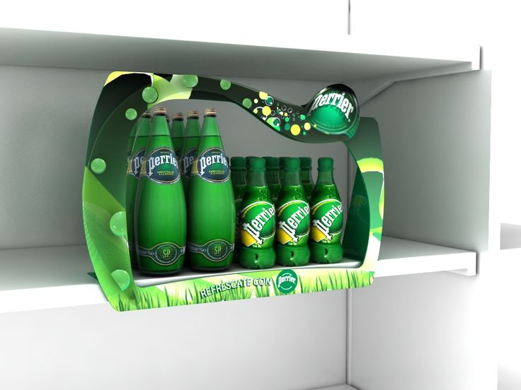 Point of Purchase Design | POP | POS | POSM | Retail Display | Perrier Glorifier…