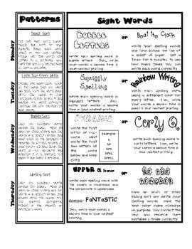 Word Work Ideas-Free! Grades 1-6.
