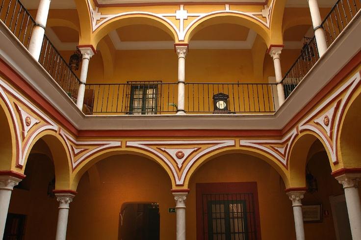 Patio de la casa de la Juderia  Sevilla, Spain