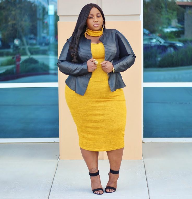 Dress | Clutch | Jacket: Sold Out - Lane Bryant | Heels: local mall It's crazy...I have always been told that yellow ...