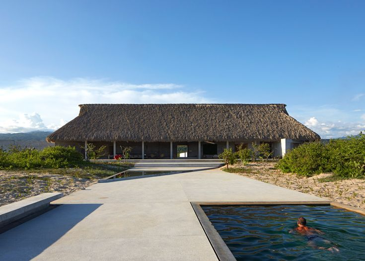 Casa Wabi is an artist's retreat along the Mexican coast
