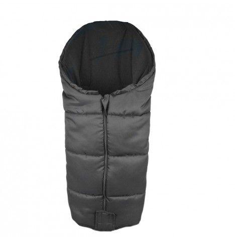 4Baby Large Universal Deluxe Polar Fleece Footmuff / Nest - Black