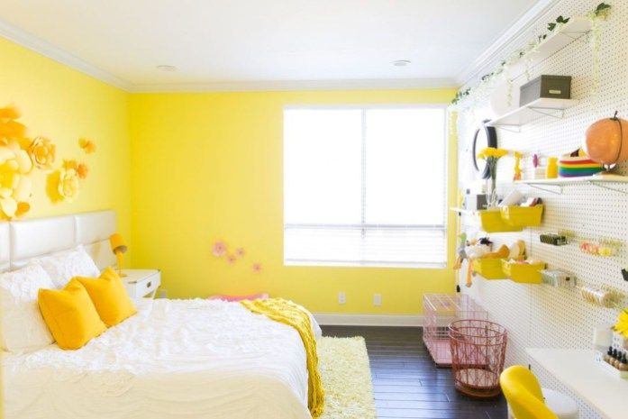 58 Delightful Yellow Bedroom Decoration And Design Ideas Yellow